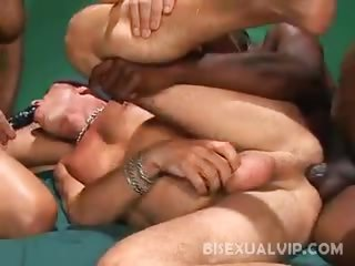 Porn Tube of Butt Crammed Bisexuals