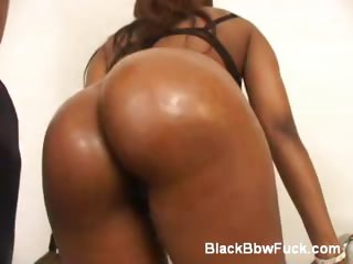 Porn Tube of Black Bbw Gets Her Pussy Filled