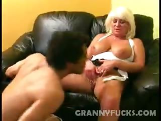 Sex Movie of Grandma Dane Hayes Fucking