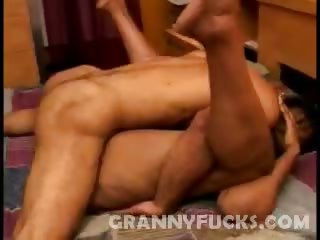 Porno Video of Hard Fucked Black Grandma