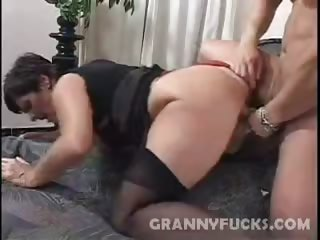 Porno Video of Hard Fucked Granny Jozsefne