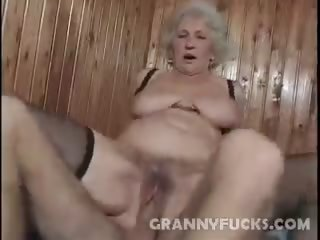 Porno Video of Horny Granny Hard Knobbed