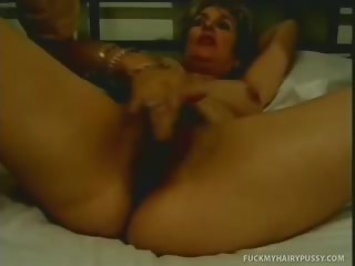 Porn Tube of Horny Mature Morine Get Kinky With Her Hairy Beaver