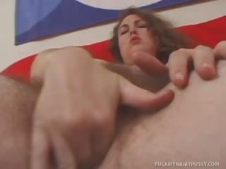Porno Video of O'shannon Gets Fucked In Her Hairy Pussy