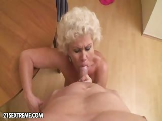 Porno Video of Blow Me Granny!