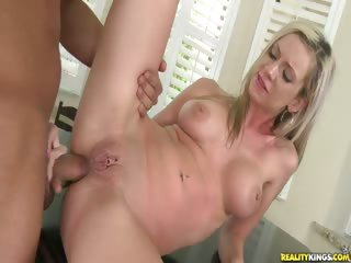 Porn Tube of Kaylee Gets Her Tight Asshole Stuffed With Cock.
