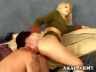 Porno Video of Gorgeous Army Slut Celestia Star