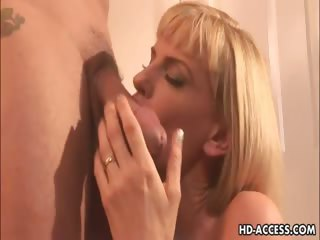 Porn Tube of Hot Blonde Milf Darryl Hanah Insane Anal Sex