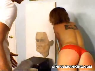 Porn Tube of Pleasurable Spanking Pain