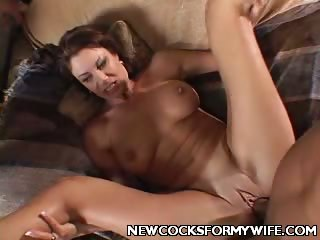 Porn Tube of Wife Vanessa Spreading Her Pussy
