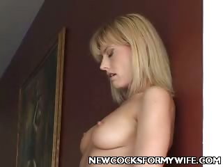 Porn Tube of Naughty Wife Cunt Drilled