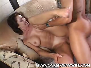 Porn Tube of Busty Wife Cock Rammed