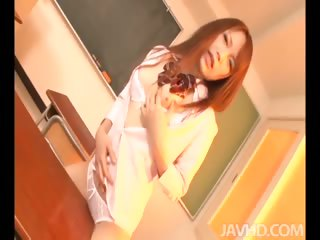 Porno Video of After School Education With Nazuna Otoi And Her Teacher Masturbating.