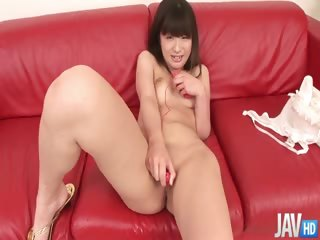 Porn Tube of Teen Shizuku Strips, Shaves, And Toys Her Pretty Pink Slit