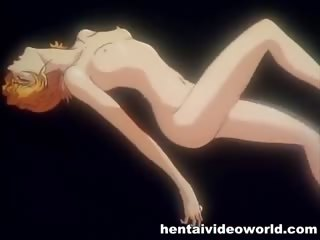 Porno Video of Shy Blonde Anime Girl In First Time Sex