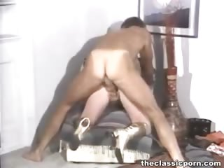 Porno Video of Wild Group Orgy On Retro Movie