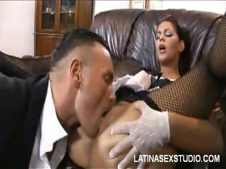 Porn Tube of Explosive Latina Orgasm