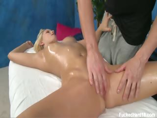 Sex Movie of Cute Blonde Vanessa Is Seduced And Fucked Hard By Her Massage Therapist