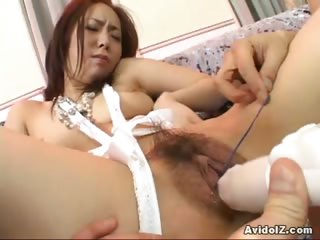 Sex Movie of Horny Asian Slut Enjoys Toy Insertion