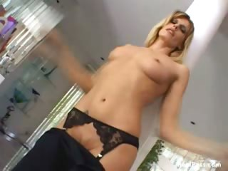 Porn Tube of Gorgeous Milf Darryl Hanah Shows Off Her Goodies In Some Sexy Lingerie