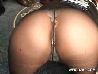 Porn Tube of Asian Dolls Showing Their Pussies In Panties And Pantyhose