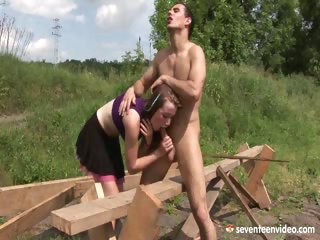 Porno Video of Screwing In The Forest