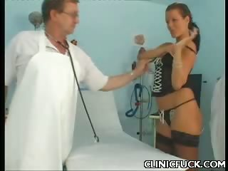 Porn Tube of Busty Doctor Gets Fucked