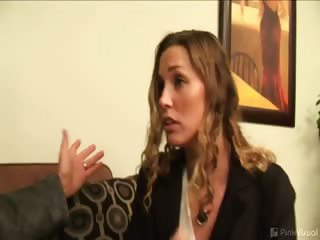 Porno Video of Deadbeat Steve Owes Ethan  600. He Can't Come Up With The Money... But He Does Have A Fine Piece Of Ass For A Wife! Perhaps They'll Work Something Out? You Know They Always Do! Jen's Eager To Get Down To Business. She'll Fuck And Suck Her Way Out Of Any P