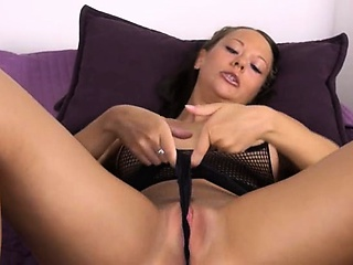 Porno Video of Czech Model Gaping With Gyno Vibrators