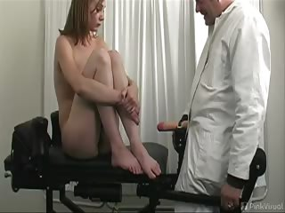 Porno Video of Cindi Was Up For The Job As Nurse And I Had To Give Our New Toy The  Bionic Penis  A Test Run! Wriggling That Sexy Ass And Moaning Like Mad I Knew We Had A Winner! And For A Double Feature Watch Our New Nurse Cindi Giving Her First Patient And Exam On Our