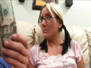 Porno Video of Poor Candy Is An Exchange Student From Germany. This Sweetened Treat Is Looking For Some Help That Only We Can Provide. All We Had To Do Was Flash A Couple Of Bills In Her Face And Her Tight Muschi Was Ours For The Taking!