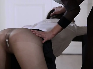 Porn Tube of 19yo Babysitter Gets Fuck From Strap On