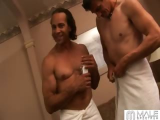 Porno Video of Chris Knows With Best Way To Get Rock Hard Abs Is Good Diet, Regular Exercise, And Constant Hardcore Fucking. After Enjoying A Beach Workout, Chris And Mark Cool Down With A Shower, Then Heat Up Again With Some Hot Cock-sucking And Ass-pounding.