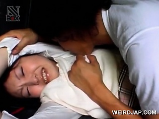 Porno Video of Asian Schoolgirl Turned Into Sex Slave Gets Fucked In A Van