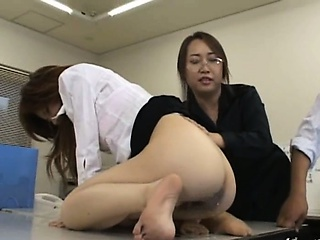 Porno Video of Tokyo Secretary From Tokyo With Ass Milk