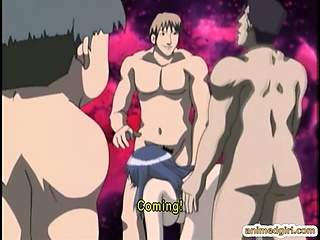 Sex Movie of Busty Hentai Group Assfucked Hard