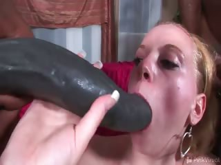 Porno Video of The Tremendous Tally Whacker Twins Are Back! See Sexy Slut Mariah Take On The Twin Totems Of Ebony Erections. Only A 20 Year Old Blonde Bimbo Can Handle These Guys And Their Fleshy Warm Lady Toys. Ladies, If You're Feeling Empty Inside Cum On In Where We'