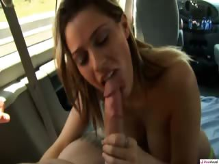 Porn Tube of Megan Was The Perfect Candidate For Getting Fucked In The Backseat Of Our Ride! She's Cute, Naive And Most Of All, Has A Great Set Of Tits! It Took Some Lies And A Promise Of Cash To Get Her Naked But Watching This Dirty Slut Ride Cock Down The Highway Wa