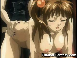 Porno Video of Hentai Futanari Initiation!