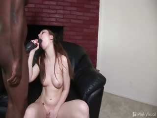 Porn Tube of With A Schlong Like A Baseball Bat, This Insane Cock Brotha Was Ready And Willing To Plow Pretty Gina's Ass And Give Her A Little Taste Of What Monster Cock Feels Like! Watch Another Pretty White Honey Go Down In This One!