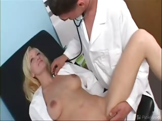 Porno Video of Samantha Was Worried That She Couldn't Feel Her Breasts, Obviously An Urgent Problem Requiring Swift Medical Attention. Luckily The Doctor's Professional Pecker Was Able To Blast Some Medicinal Lotion On Them, Preventing Costly Surgery.