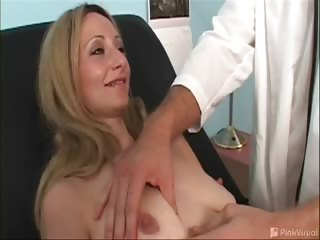 Porn Tube of Kiah Was In For Her Yearly Breast Exam But Forgot All About Her Tits Once The Doctor's Equipment Came Out. Then The Doc Applied The Magic Healing Powers Of The Dick. The Treatment May Have Left Kiah With A Couple Sore Holes But Her Tits Definitely Feel Be