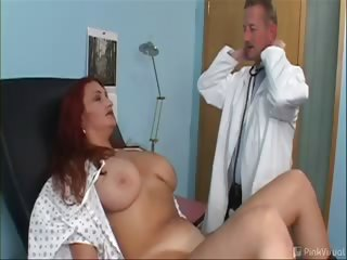 Porno Video of My God Jessica Had Some Gargantuan Gallon-sized Milk Jugs!!! They Were Definitely Bigger Than Her Brain Because It Was Easy To Scam This Slut Into Stripping In Front Of The Camera And Letting The Doctor Fuck Her!!