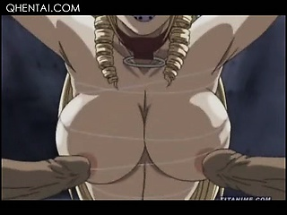 Sex Movie of Aroused Naked Hentai Sexy Lesbos Fucking A Double Dildo