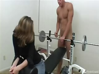 Porno Video of Kelly Wanted To Get Fit And We Were Willing To Give Her A Workout! Kelly Let Us Fuck Her Anyway We Wanted. Too Bad For Her, We Also Wanted To See Her Swallow The Whole Load!!