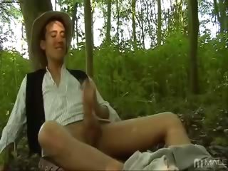 Porn Tube of Kaiden Bailey Dressed As Joseph Smith And Pulling On His Awesome Cock For You? Why Yes, That's What We Have Here. Awesomely Hot Kaiden Wanders Into The Forest To Pray To The One Religion We Can All Appreciate Right Off The Bat  His Sweet Cock And Onanism.