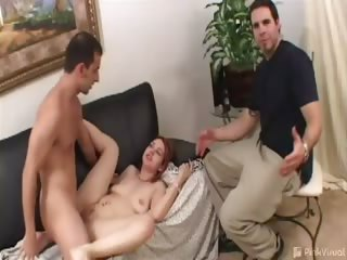 Porno Video of We Decided To Test Our Con-artist Skills By Seeing Just How Much Cash It Would Take To Get This Husband To Let Us Fuck His Hot Little Wife. Guys Love To Watch Porn, But This Might Have Been More Than He Bargained For!
