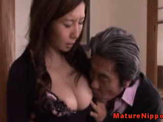 Porno Video of Japanese Mature Milf Using Sexy Lingerie