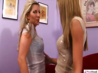 Porno Video of Shopaholic, Ashley, Just Wanted To Buy A Sexy New Pair Of Bra And Panties, But, Sammie, Just Wanted To Get In Them. Ashley Never Knew A Woman Could Find More Pleasure Than A New Charge Card. Virgin To The Woman's Touch, Sammie Is Going To Make Sure Ashley