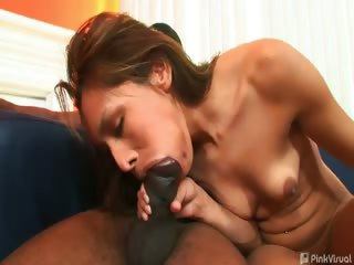 Porno Video of Nataly Just Stopped To Give Directions But That Wasn't All She Gave. One Look At Our Monster Cocks And She Realized Her Tight Pussy Was In For A Feast. We Fed Her Our Foot Longs And Filled Her To Capacity. Cum See How Full She Gets!
